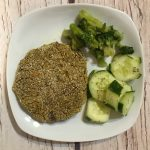 Hamburger di quinoa e lenticchie
