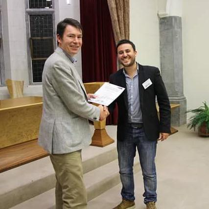 Premio a un congresso internazionale